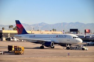 A Delta jet in Los Angeles