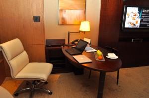 A Shangri-La hotel room