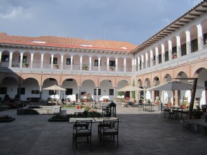 JW Marriott Hotel Cusco courtyard