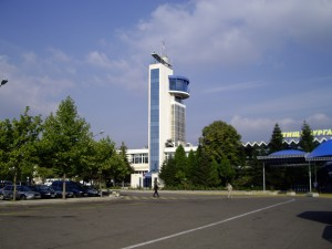 The control tower at Burgas Airport