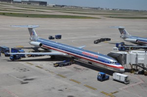 American Airlines aircraft in Dallas