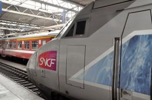An SNCF TGV