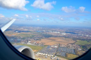 London Heathrow from the air