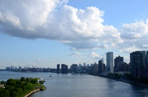 New York City skyline from the East River