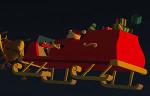 Boeing's Santa