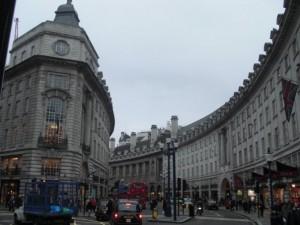 Regent Street in Central London