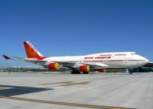 An Air India 747