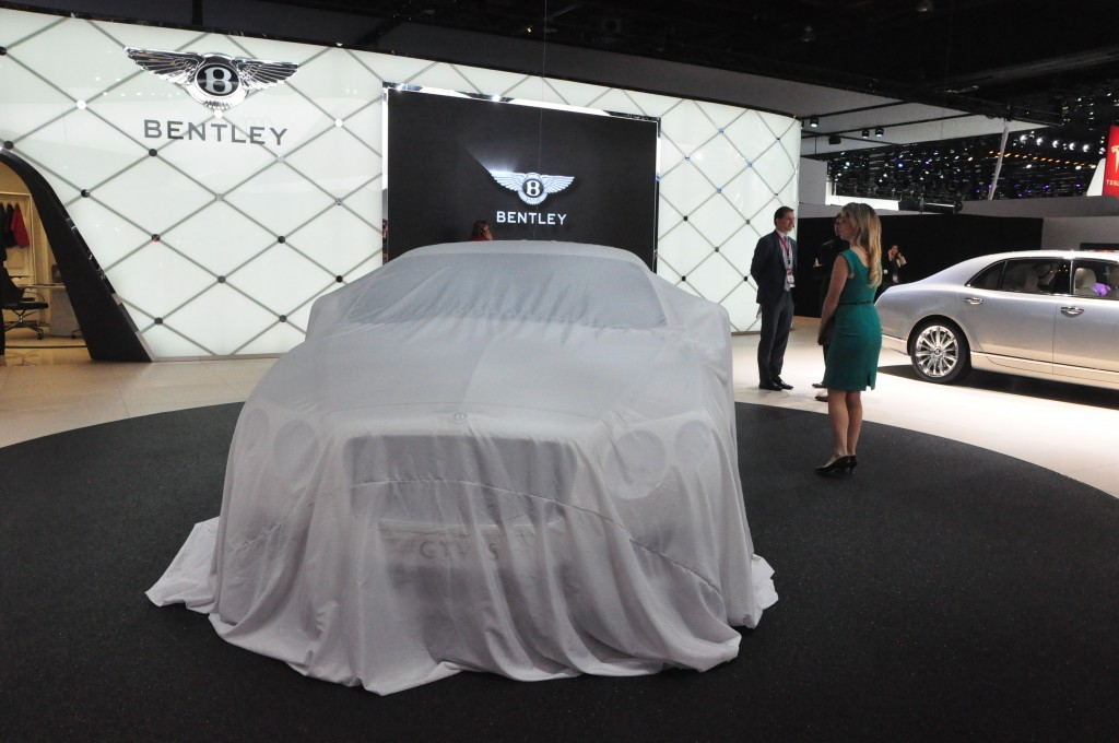 The unveiling of the Bentley GT V8 S