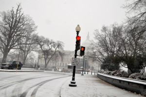 Washington D.C. in last week's snowstorm