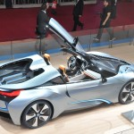 BMW i8 at the Paris Motor Show