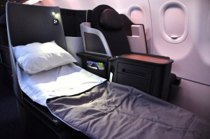 Business class on the A321T