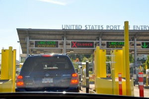 U.S. border crossing in Washington