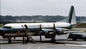 An Eastern Air Lines L-188 Electra N5512