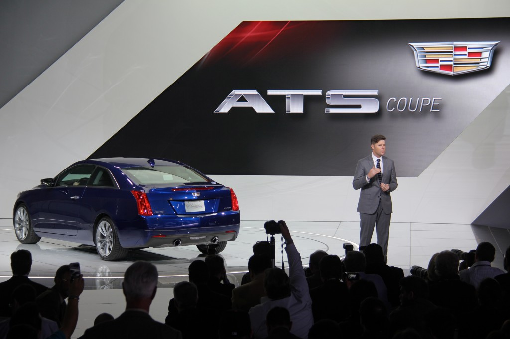 The new Cadillac ATS coupe