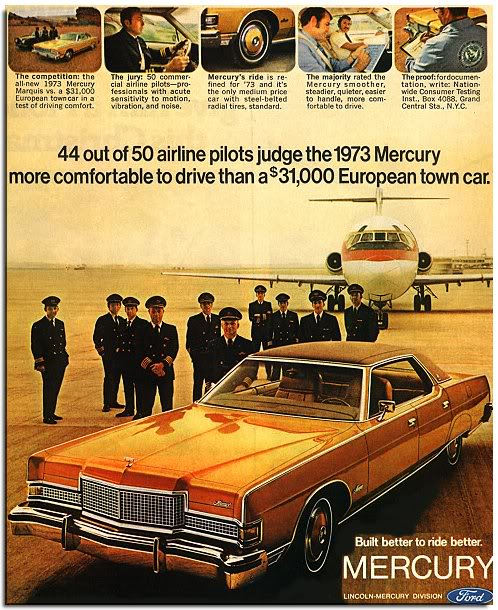 Pilots with Lincoln Mercury