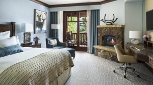 A new room at the Ritz Carlton Bachelor Gulch