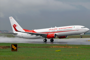 An Air Algerie Boeing 737-800 in Frankfurt