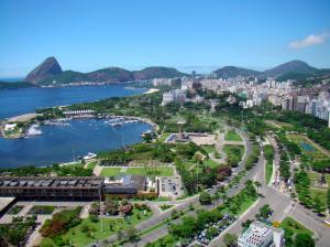 A view of Rio's Marina da Glória