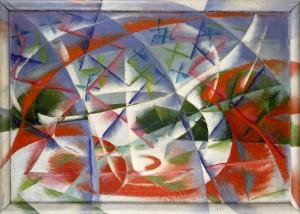 Giacomo Balla's Abstract Speed + Sound