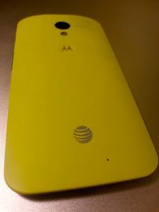 An AT&T Moto X