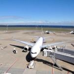 Aircraft at Tokyo's Haneda Airport