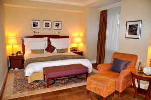 A Mandarin Oriental hotel room