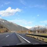 A drive through Austria planned using Google Maps