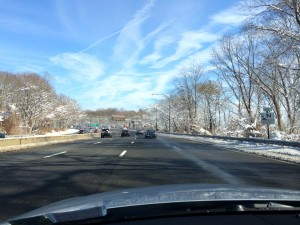 A parkway on Long Island on Tuesday