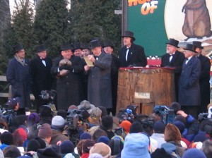 Punxsutawney Phil and friends