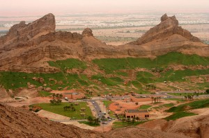 Jebel Hafeet, a mountain in Al Ain