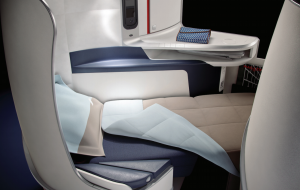 Air France's new business class seat
