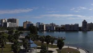 The Sarasota skyline