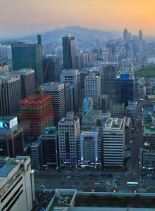 Seoul's Gangnam district