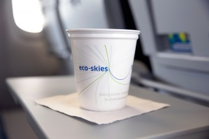 United's new recyclable cup