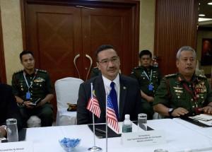 Malaysian Minister of Defense Hishammuddin Hussein in June 2013