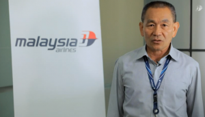 Malaysian Airlines Group CEO Ahmad Jauhari in a video message