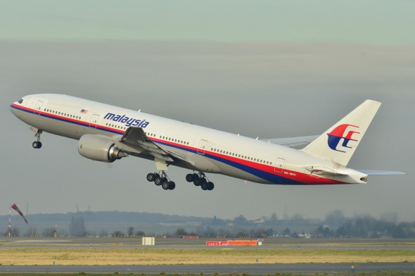 The missing Malaysia Airlines 777-200ER at Charles de Gaulle Airport in 2011