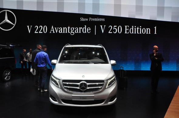 Mercedes-Benz' new V-Class