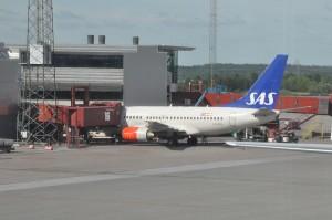 An SAS Airbus A321