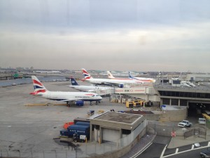 British Airways aircraft in New York