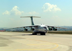 Turkmenistan aircraft in Istanbul
