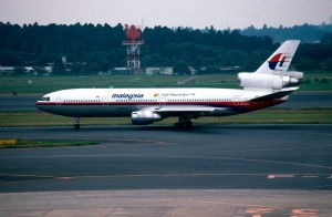 A Malaysia Airlines DC-10