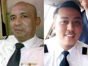 The two pilots of MH370, Pilots Zaharie Ahmad Shah, 53, left, and Fariq Abdul Hamid, 27.