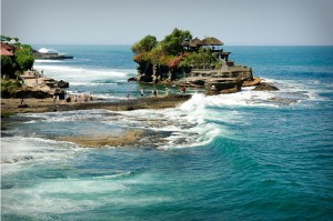 Pura Tanah Lot, a temple in Bali
