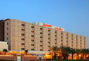 Exterior of the Riyadh Marriott Hotel