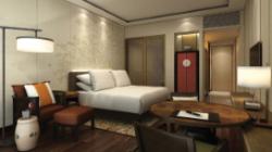 A room at the Hyatt Regency Chongming