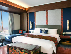 A room at the Shangri-La, Lhasa