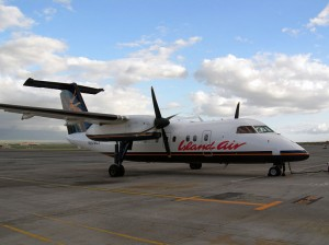 A Hawaii Island Air plane