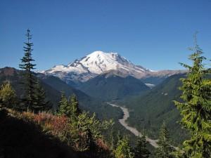 The Cascade Mountain Range