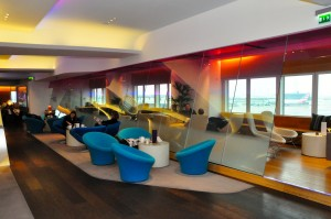 Virgin's Clubhouse lounge at LHR